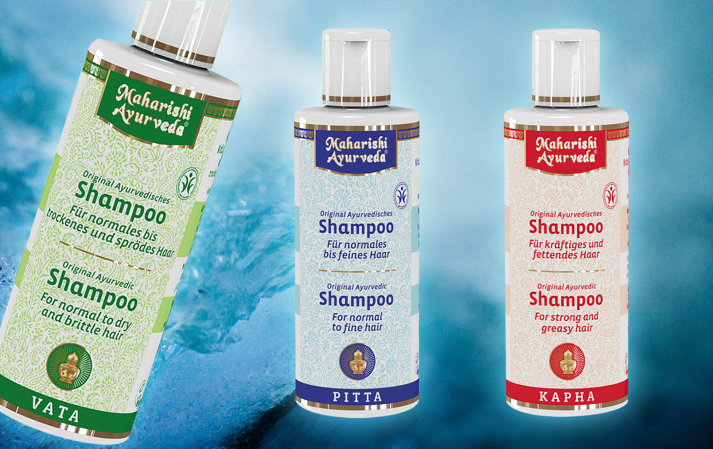 Ayurvediska shampon