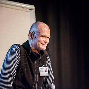 Kursledare Peter Ljungsberg.